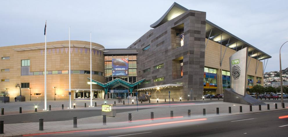 Te Papa, the national museum, is a popular attraction in the capital. Photo: ODT files