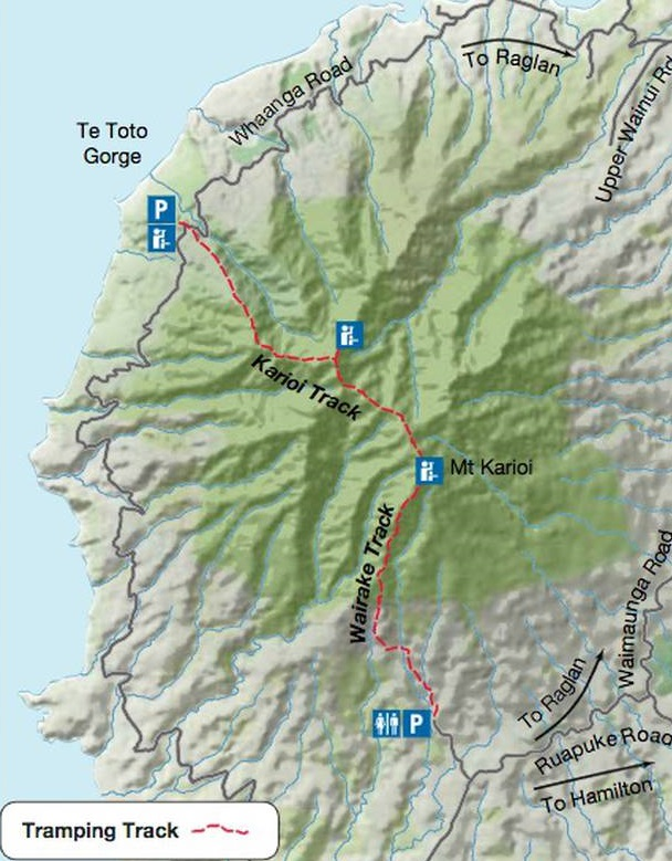 The Kariori Track area. Image: supplied