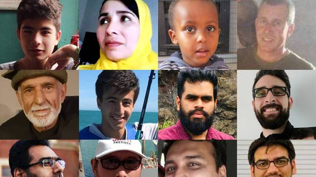 Fifty people have been identified as victims of the Christchurch attack. Photos: Supplied