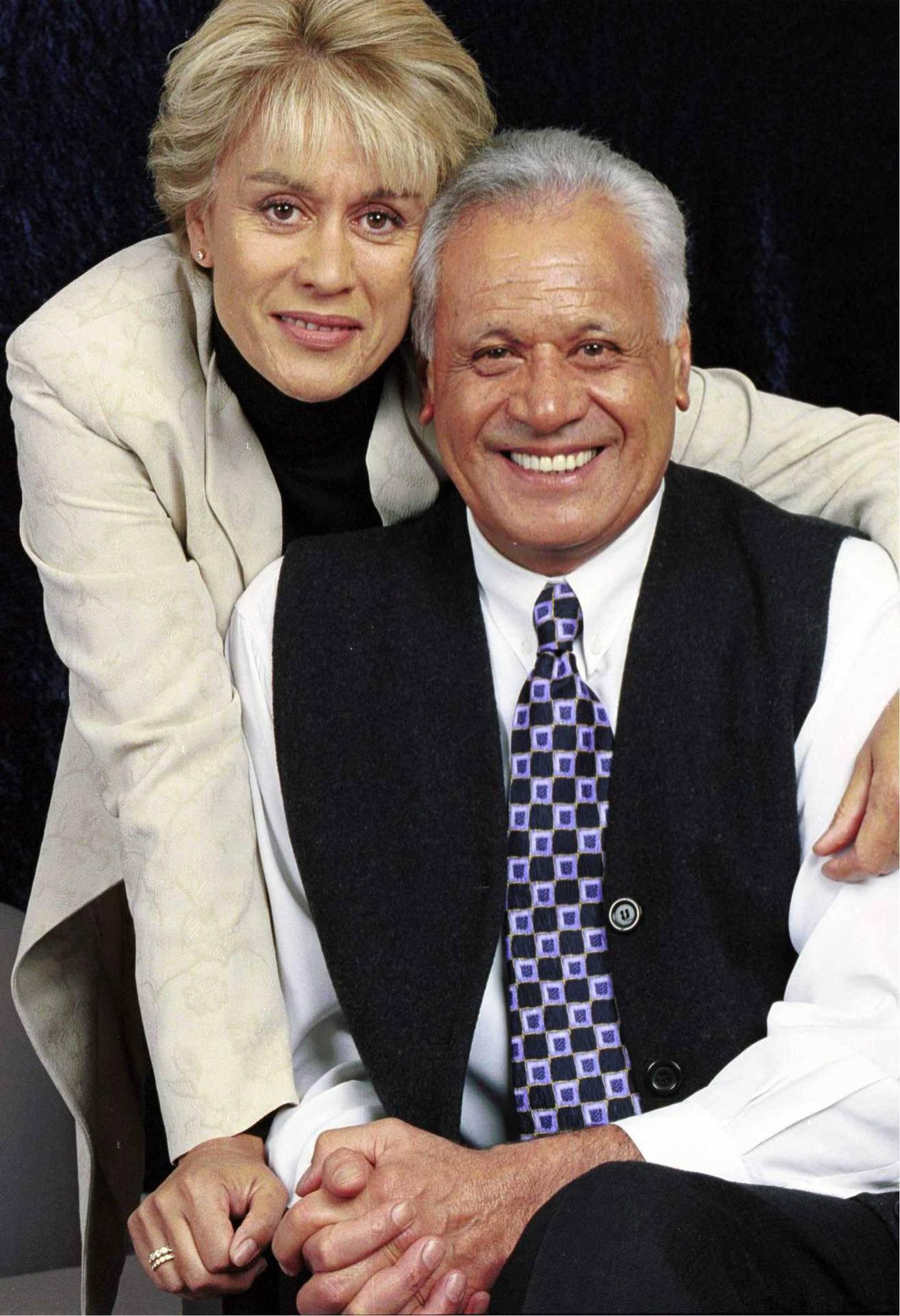 Dame Kiri Te Kanawa and Sir Howard Morrison. Photo: Supplied via NZH
