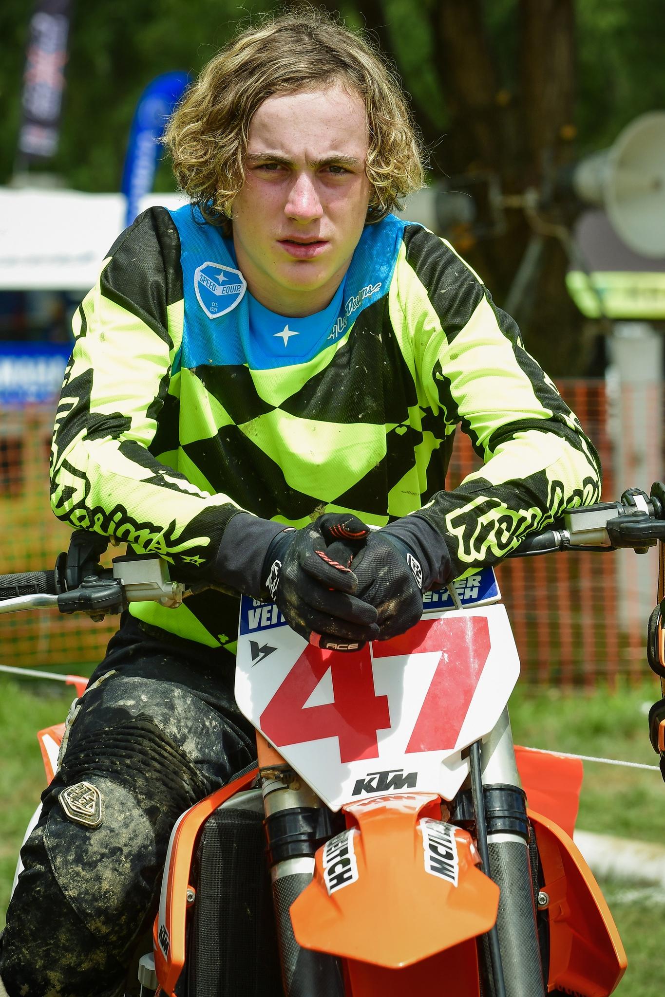 Otago's Grason Veitch, a multi-time former New Zealand motocross champion, victim of a motor...