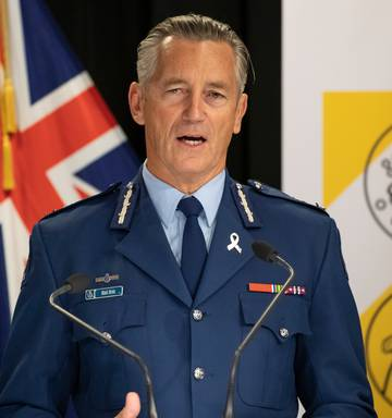 Former Commissioner Mike Bush is now leading the Government's operational response to Covid-19....
