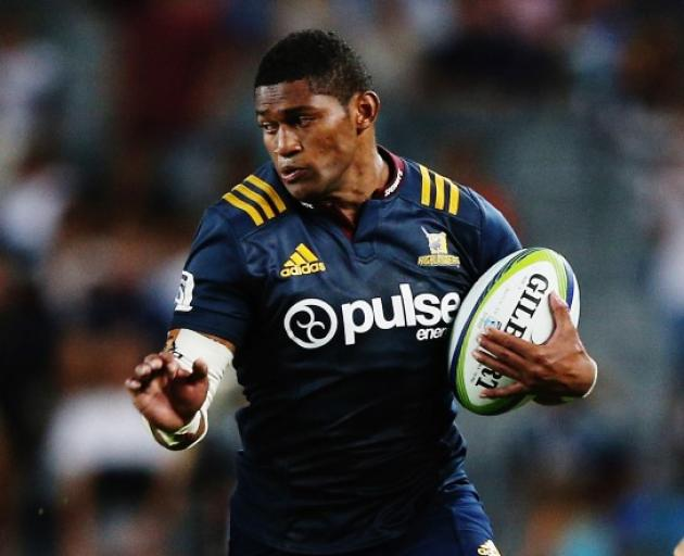 Highlanders wing Waisake Naholo. Photo: Getty Images