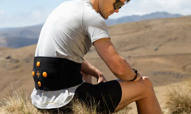 The Myovolt Back Recovery uses state of the art vibration to warm up, loosen and relax sore and...