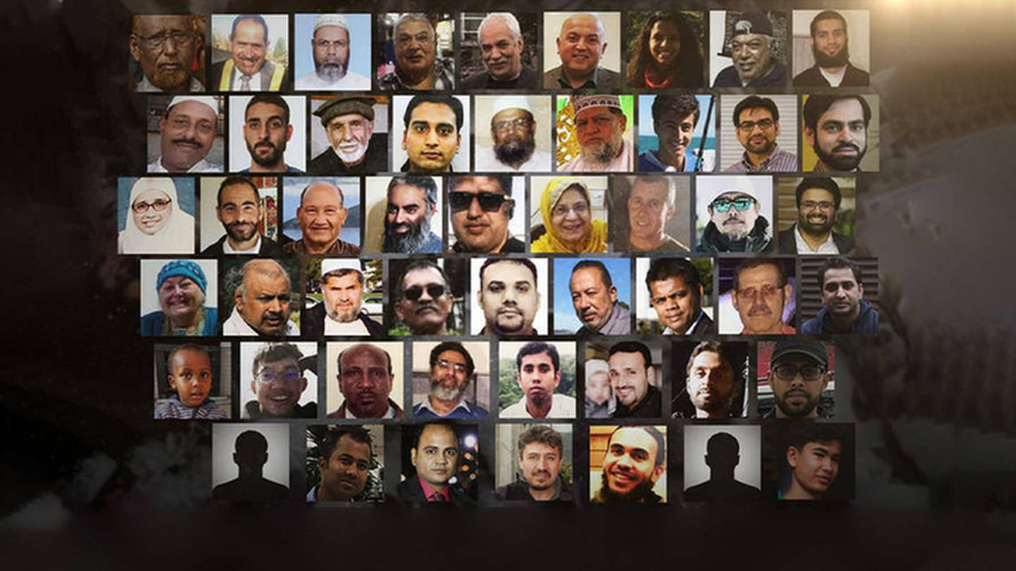 The victims of the Christchurch mosque shootings. Photo: NZ Herald