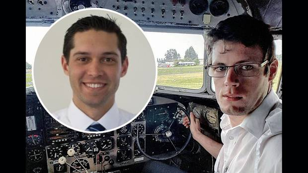 Zakir Parkar and Peter Callagher died in the crash. Photos: supplied