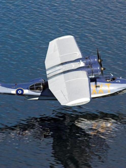 The Consolidated Catalina PBY-5A  flying boat that might return to next year's Warbirds Over...